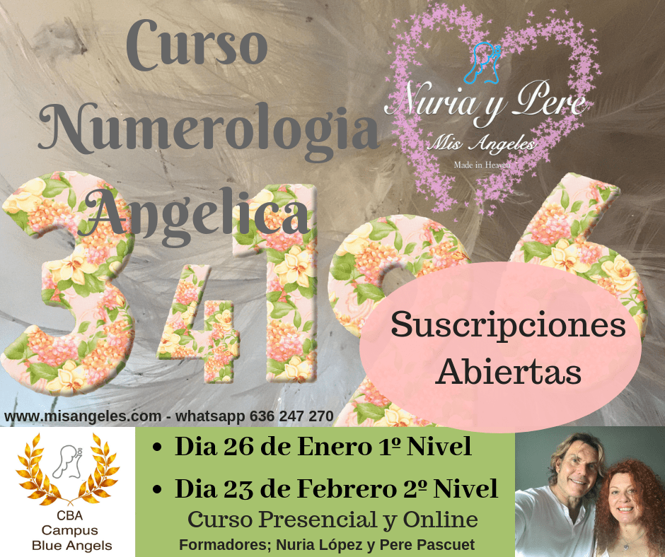 Curso on line de Numerologia Angelica
